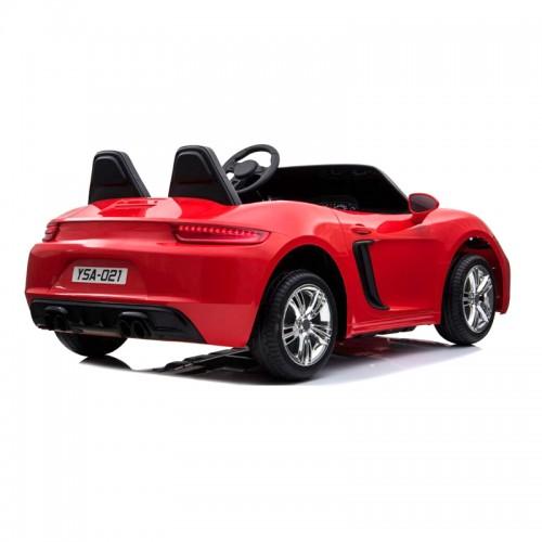 ΕΚΘΕΣΙΑΚΟ ΚΟΜΜΑΤΙ - Ηλεκτροκίνητο Αυτοκίνητο τύπου Porsche για Ηλικίες 6-12 Κόκκινο BJ021-EXB