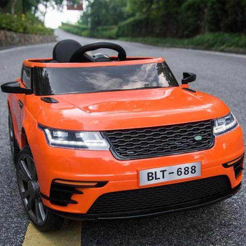 Ηλεκτροκίνητο Αυτοκίνητο τύπου Land Rover με τηλεχειριστήριο 12V Πορτοκαλί BJ688O