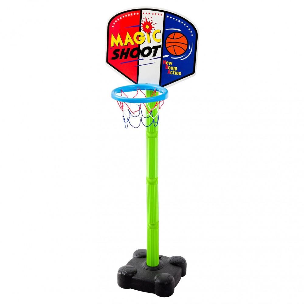 Πλαστική Μπασκέτα Super Magic με Δίχτυ Πράσινο 7090
