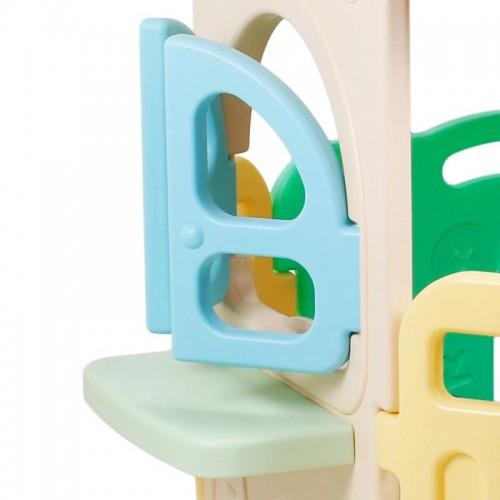 Πλαστικός Παιδότοπος με Φράχτη και μπασκέτα W009