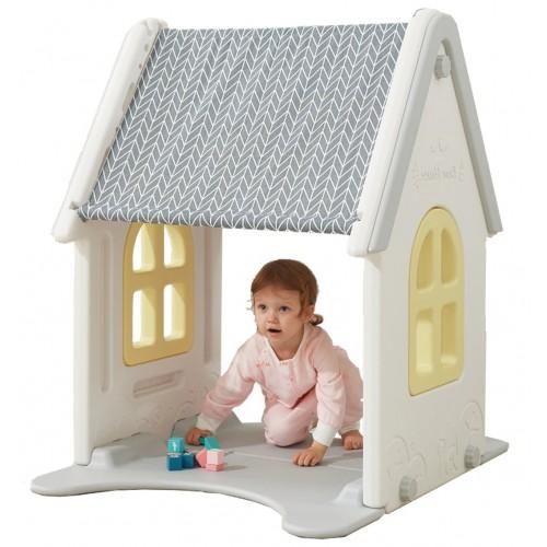 ΕΚΘΕΣΙΑΚΟ ΚΟΜΜΑΤΙ - Πλαστικό Σπίτι Κίτρινο 4987-EXB