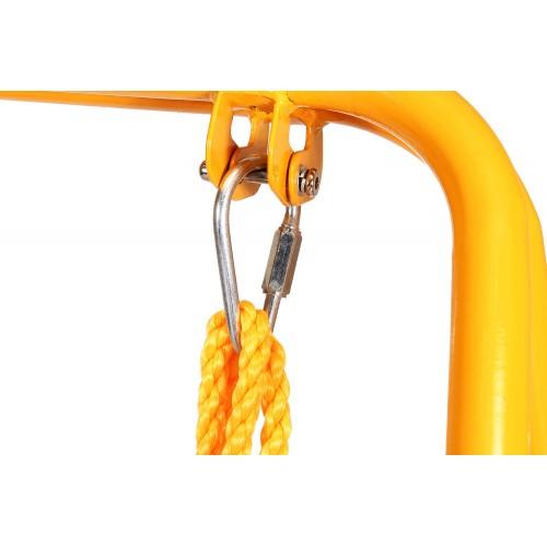 Κούνια με Δίχτυ για Μπάσκετ Μωβ QQ01