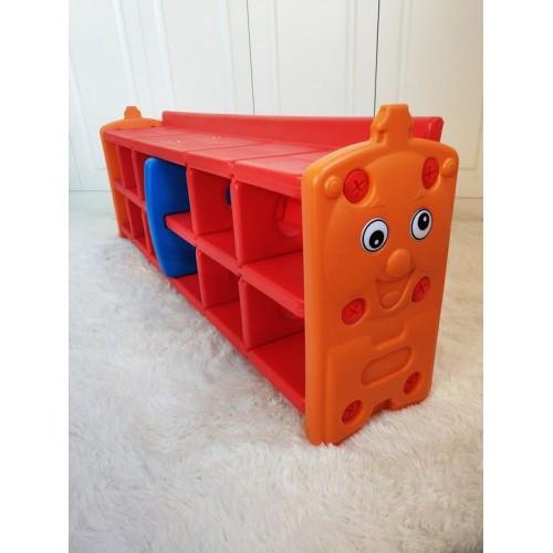 Πλαστική Παιδική Σύνθεση για Παπούτσια Κόκκινο 123-1