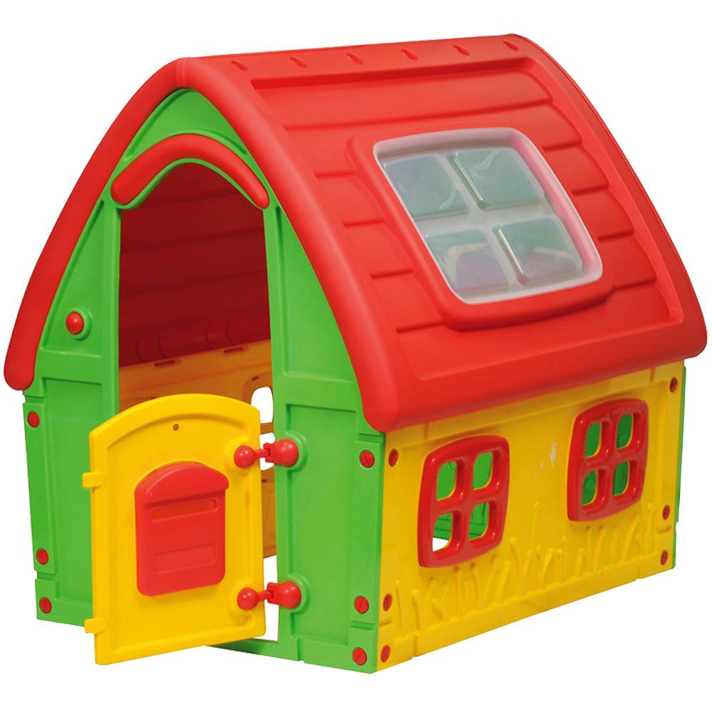 StarPlay - Παιδικό Σπιτάκι Κήπου Fairy House  Κόκκινο - Πράσινο 50560