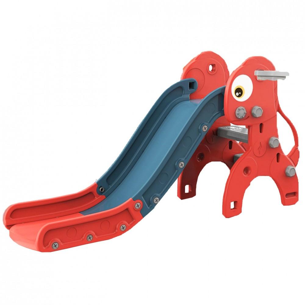 Πλαστική Τσουλήθρα Δράκος Κόκκινο QS02-RD
