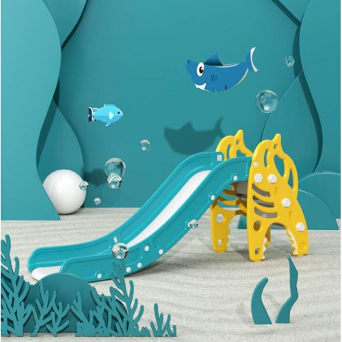 Πλαστική Τσουλήθρα Shark Κίτρινο SY03-YL
