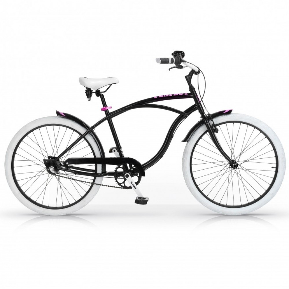 "Cruiser Bike - PLAYBOY MBM 26""Lady 1S  Black 01-17"