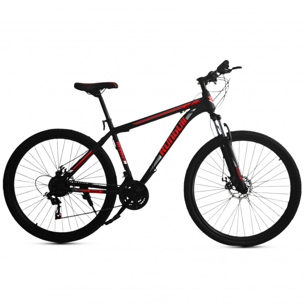 ΕΚΘΕΣΙΑΚΟ ΚΟΜΜΑΤΙ - Ποδήλατο Βουνού Runbull DR7 26 ίντσες Μαύρο - Κόκκινο 252-26-BLR-EXB
