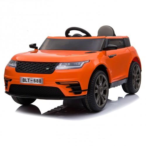 Electric child car Land Rover 12V Orange BJ688O