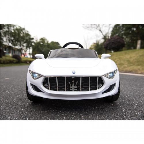 Ηλεκτροκίνητο Αυτοκίνητο Τύπου MASERATI ALFIERI CANGAROO με MP3 και τηλεχειριστήριο 12V Λευκό SX1728W