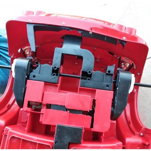 ΕΚΘΕΣΙΑΚΟ ΚΟΜΜΑΤΙ - Ηλεκτροκίνητο Αυτοκίνητο τύπου Mini Cooper MP3 και τηλεχειριστήριο 12V κόκκινο 7088R-EXB