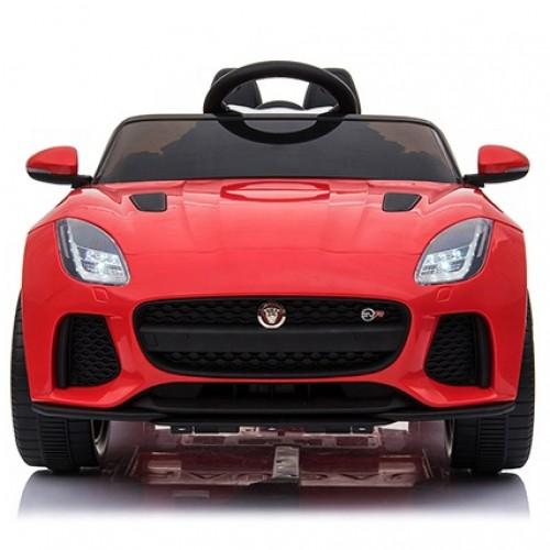 ΕΚΘΕΣΙΑΚΟ ΚΟΜΜΑΤΙ - Ηλεκτροκίνητο Παιδικό Αυτοκίνητο Jaguar F-TYPE SVR Licensed original με τηλεχειριστήριο 12V Κόκκινο Q5388B-RD-EXB