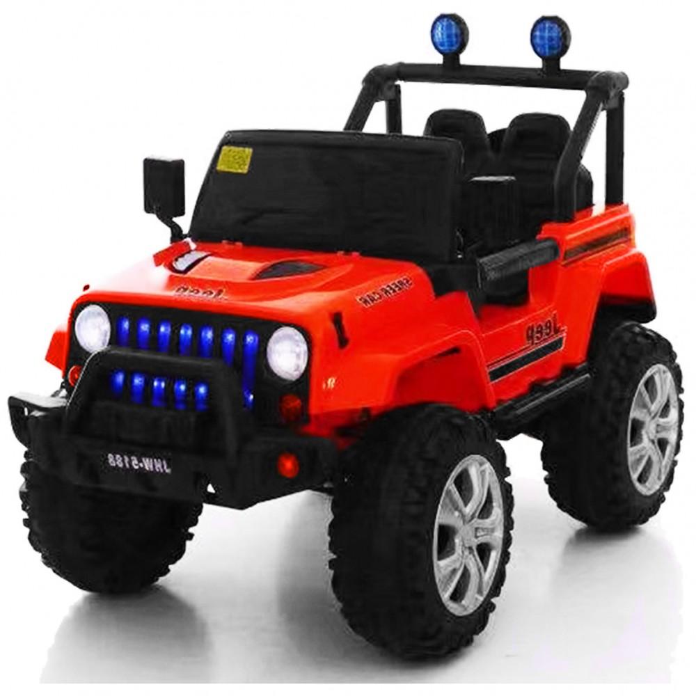 ΕΚΘΕΣΙΑΚΟ ΚΟΜΜΑΤΙ -Ηλεκτροκίνητο Αυτοκίνητο τύπου  Jeep με τηλεχειριστήριο 12V Κόκκινο 903RD-EXB