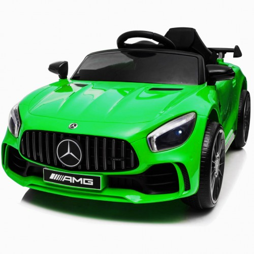 Electric children's car Mercedes GTR Licensed original with MP3 12V Green 10011-GRN