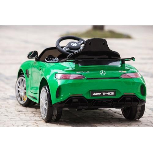 Ηλεκτροκίνητο Αυτοκίνητο Mercedes GTR  Licensed original με τηλεχειριστήριο 12V Πράσινο HL288-GRN
