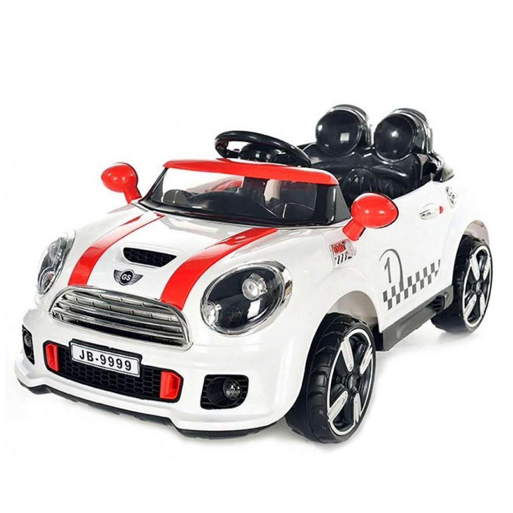 EXHIBITION MODEL - Electric Kid Car Mini Cooper 12V White 9999A
