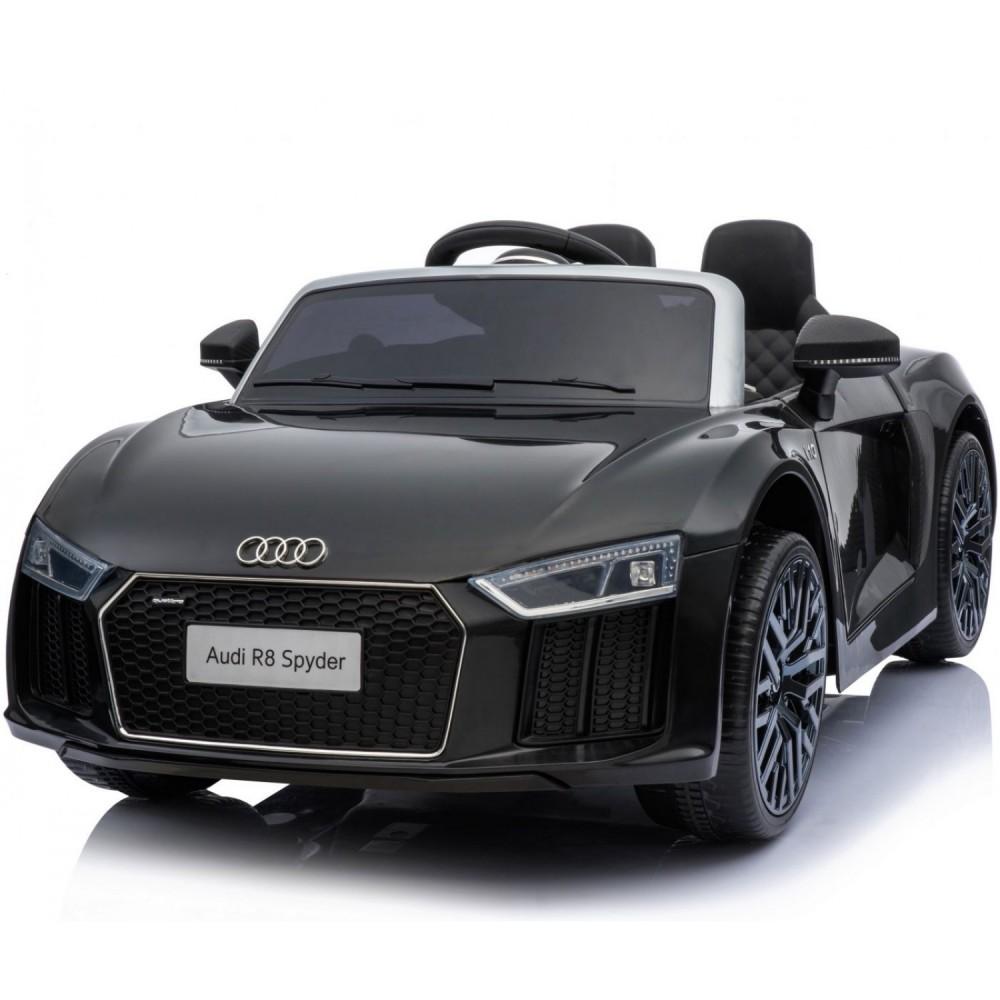 ΕΚΘΕΣΙΑΚΟ ΚΟΜΜΑΤΙ - Ηλεκτροκίνητο Αυτοκίνητο Audi R8 Spyder και τηλεχειριστήριο 12V Μαύρο R8-BL-EXB