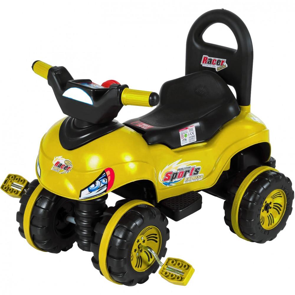 Παιδικό Αυτοκίνητο με πετάλ Κίτρινο O-7301-YL