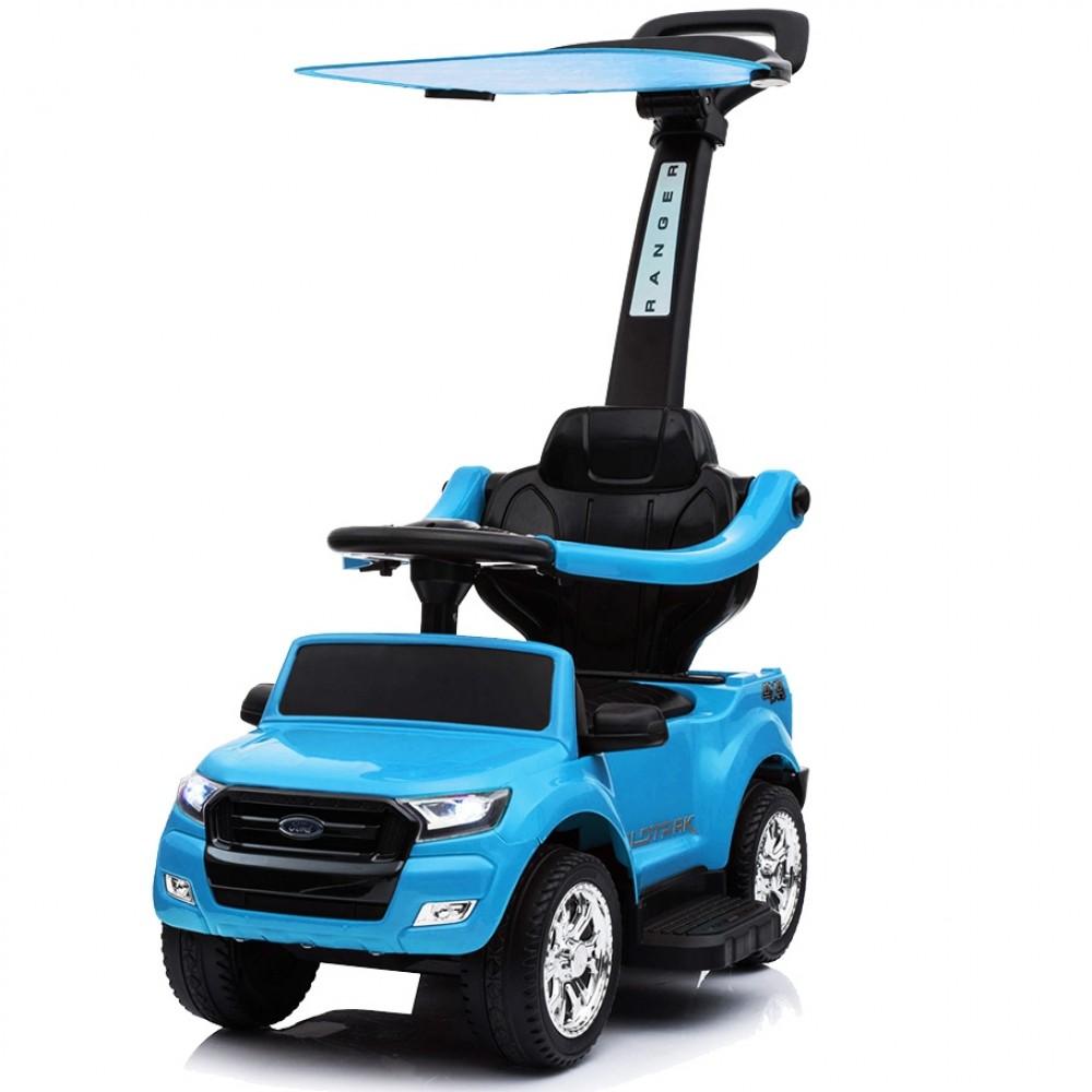 Ποδοκίνητο Αυτοκίνητο Ford Ranger με μπάρα καθοδήγησης Μπλε P01C-BLU