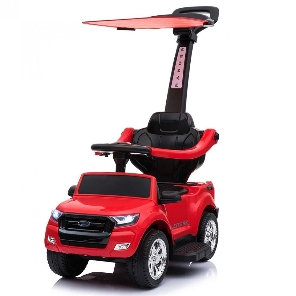 Ποδοκίνητο Αυτοκίνητο Ford Ranger με μπάρα καθοδήγησης Κόκκινο P01C-RD
