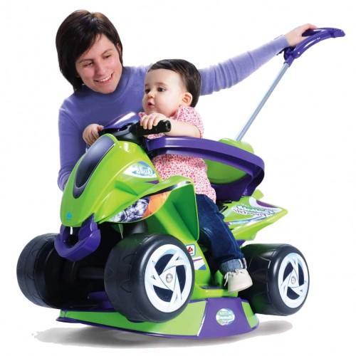 Ποδοκίνητή Γουρούνα Goliath με μπάρα καθοδήγησης Πράσινο 137