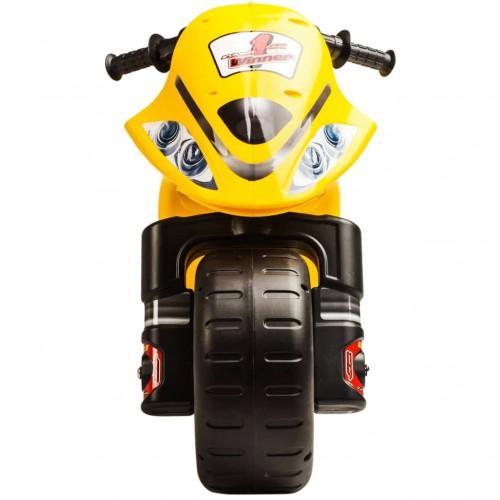 Ποδοκίνητό Μηχανάκι Winner Κίτρινο 194