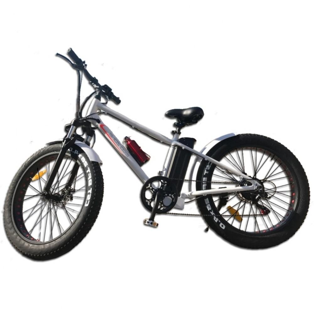 Eco-Bikes - Ηλεκτρικό Ποδήλατο 26 ίντσες  Λευκό E-bike BN011