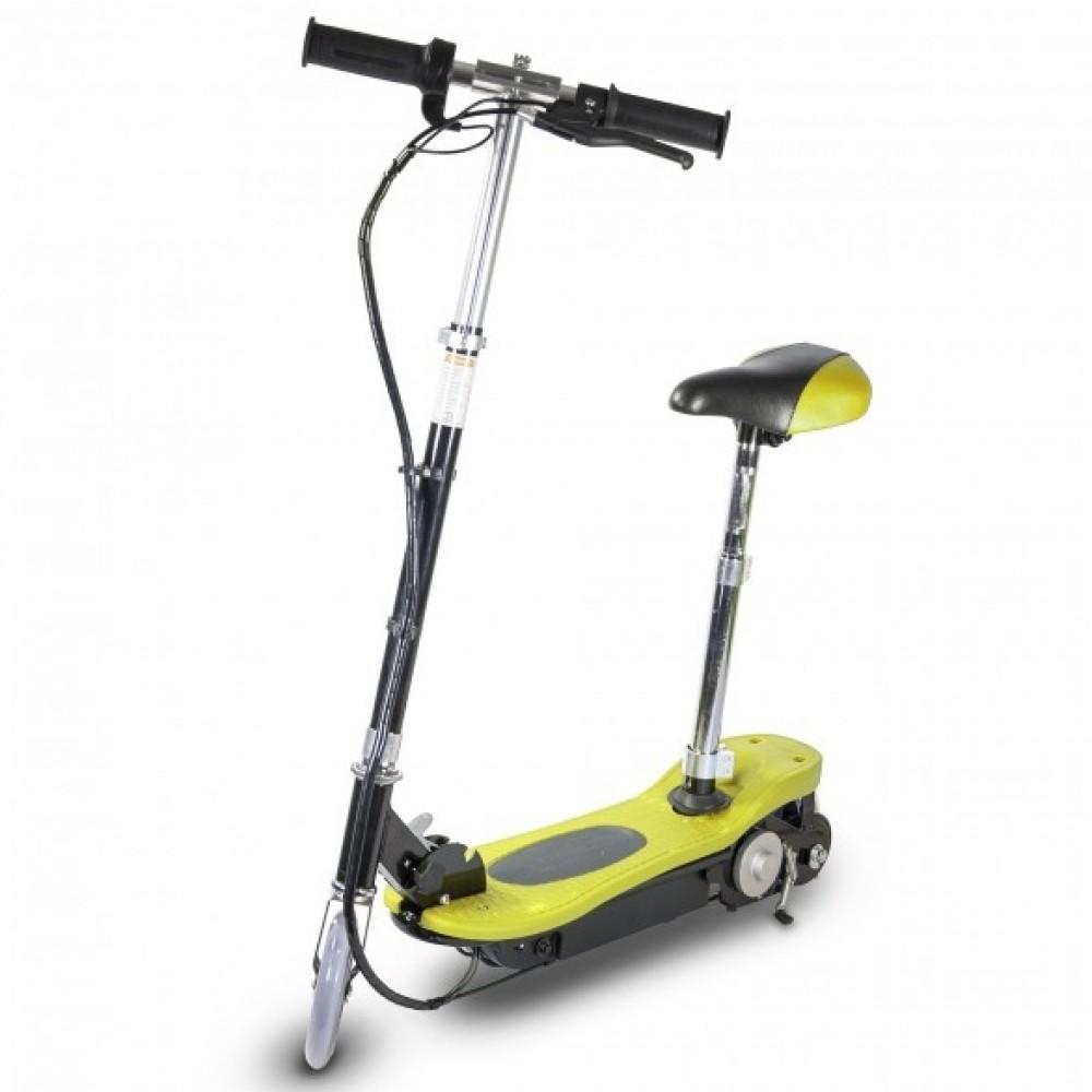 Ηλεκτρικό Scooter Power Plus με κάθισμα - 120 Watts Κίτρινο 3100WSY