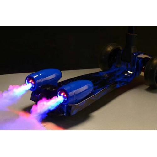Παιδικό Πατίνι  Galaxy Smoke Lighting Μπλε SG06