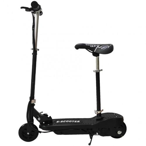 Ηλεκτρικό E-Scooter Με Κάθισμα Μαύρο D02-S-BL
