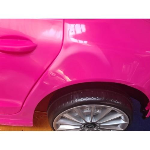 ΕΚΘΕΣΙΑΚΟ ΚΟΜΜΑΤΙ - Ηλεκτροκίνητο Αυτοκίνητο Mercedes Benz CLS 350 Licensed original με MP3 και τηλεχειριστήριο 12V Ροζ 11666-PN-EXB