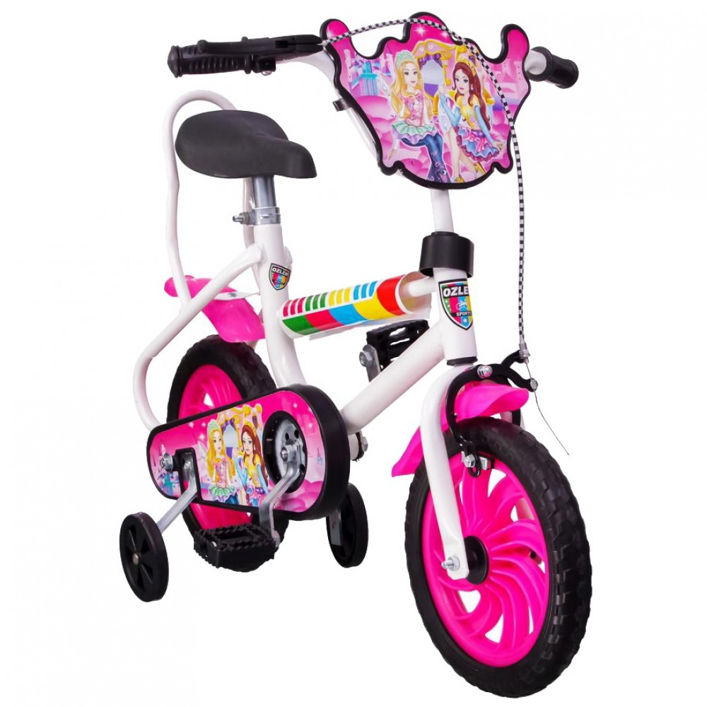 Παιδικό Ποδήλατο  Biketoys.gr - Cute Girl 12 ιντσών Ροζ 120-12-PN