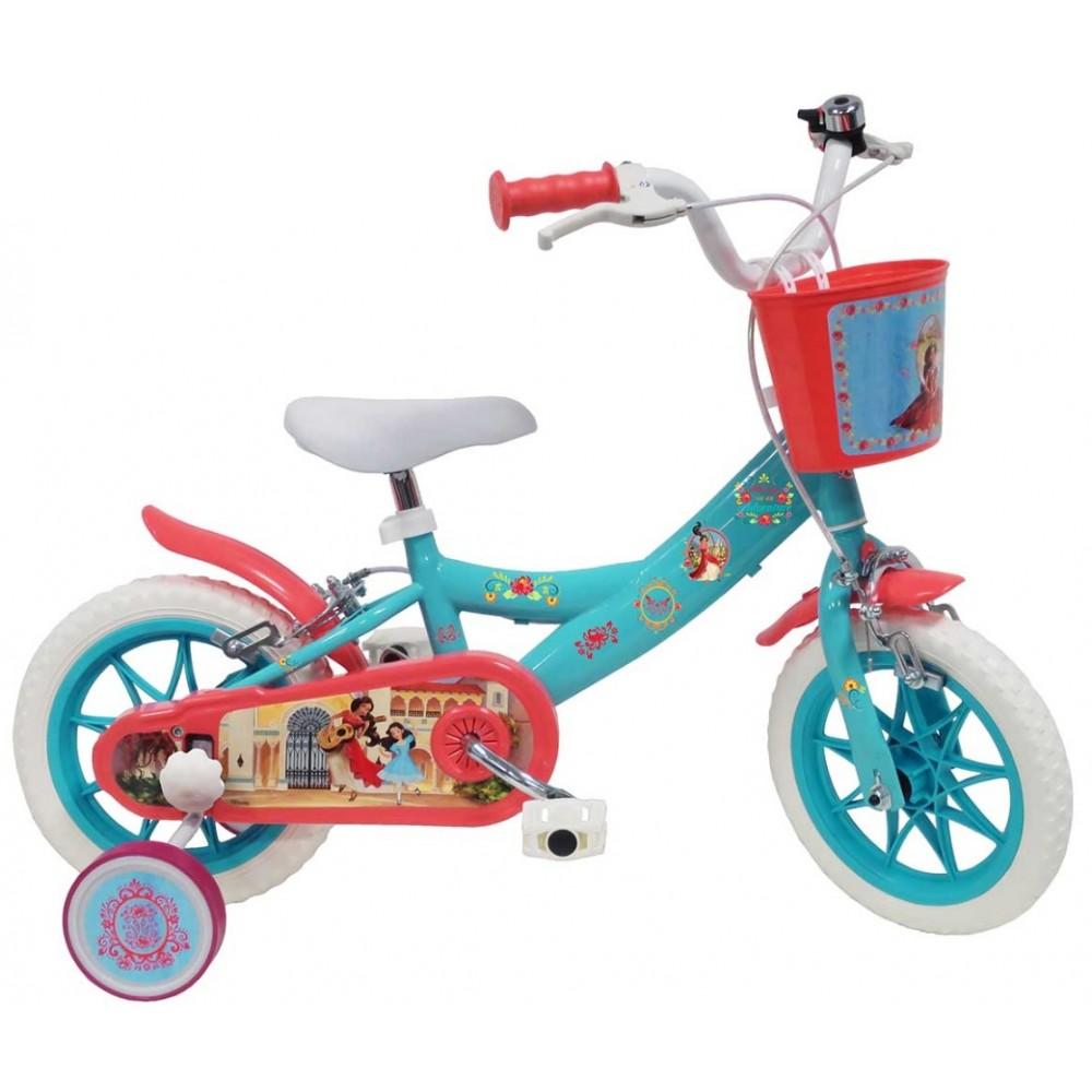 ΕΚΘΕΣΙΑΚΟ ΚΟΜΜΑΤΙ - Ποδήλατο - Elena Di Avalor 12 ιντσών Τιρκουαζ 17252-EXB