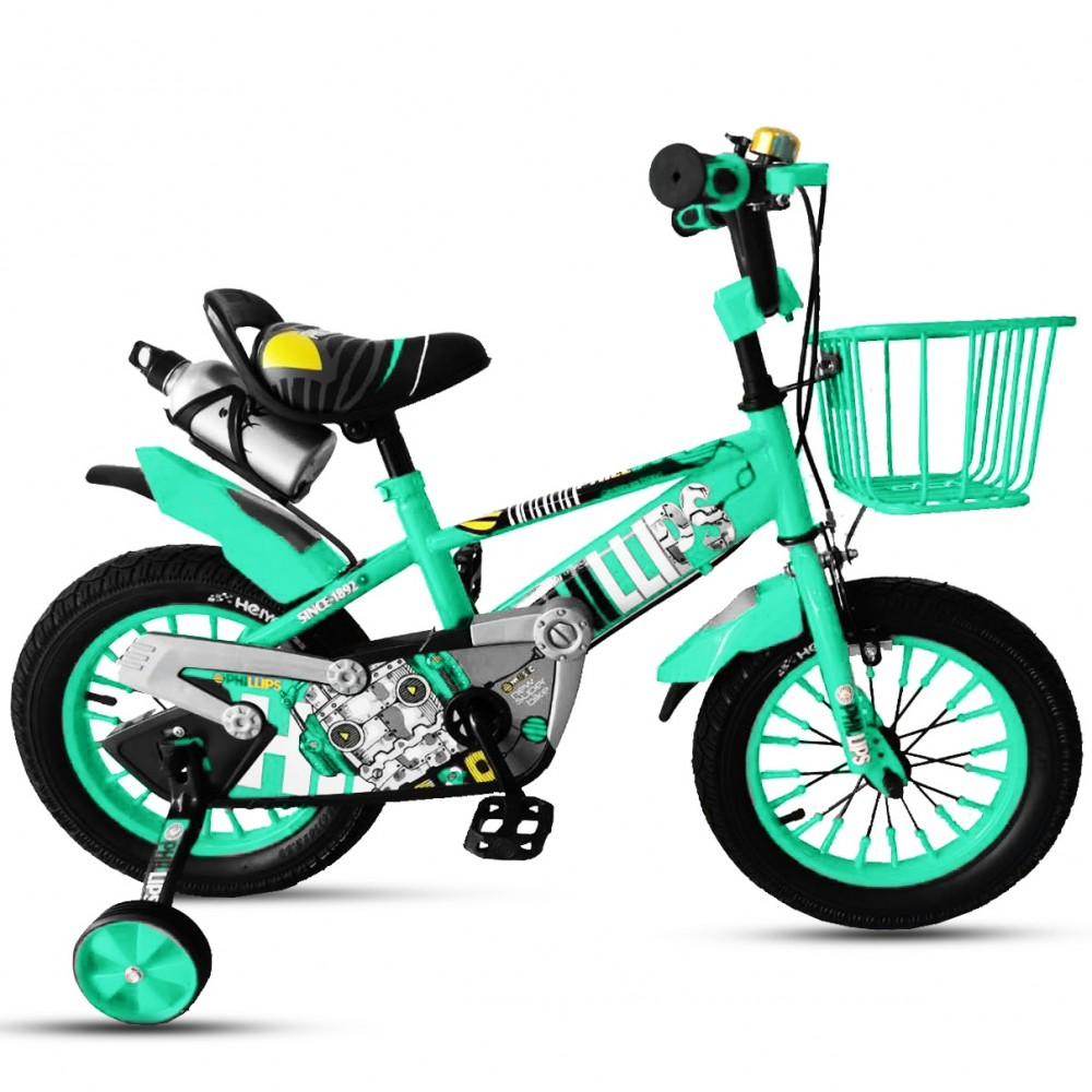 Παιδικό Ποδήλατο - Cars 12 ιντσών Τιρκουάζ 104-12-TUR