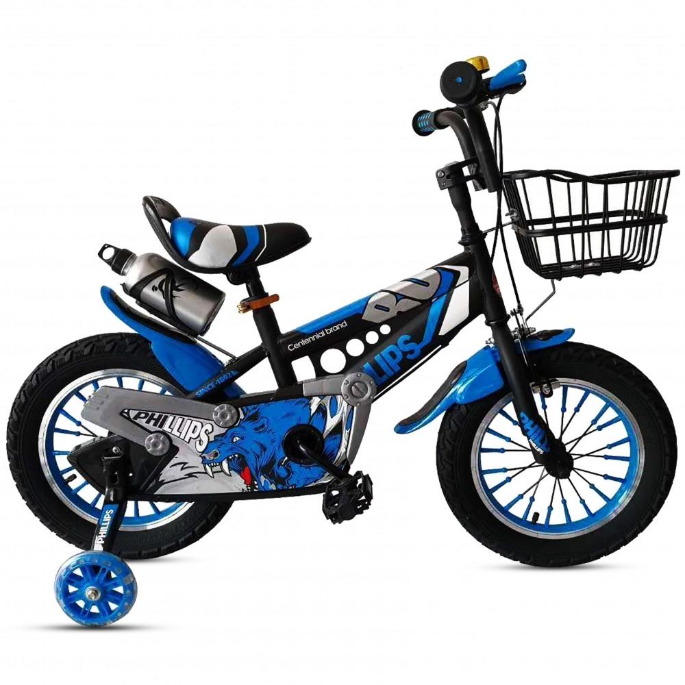 Παιδικό Ποδήλατο - Leon 16 ιντσών Μπλε 111-16-BLU