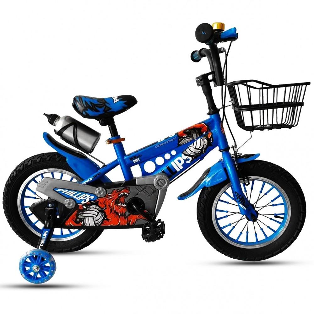 Παιδικό Ποδήλατο - Leon 12 ιντσών Μπλε 111-12-BLU