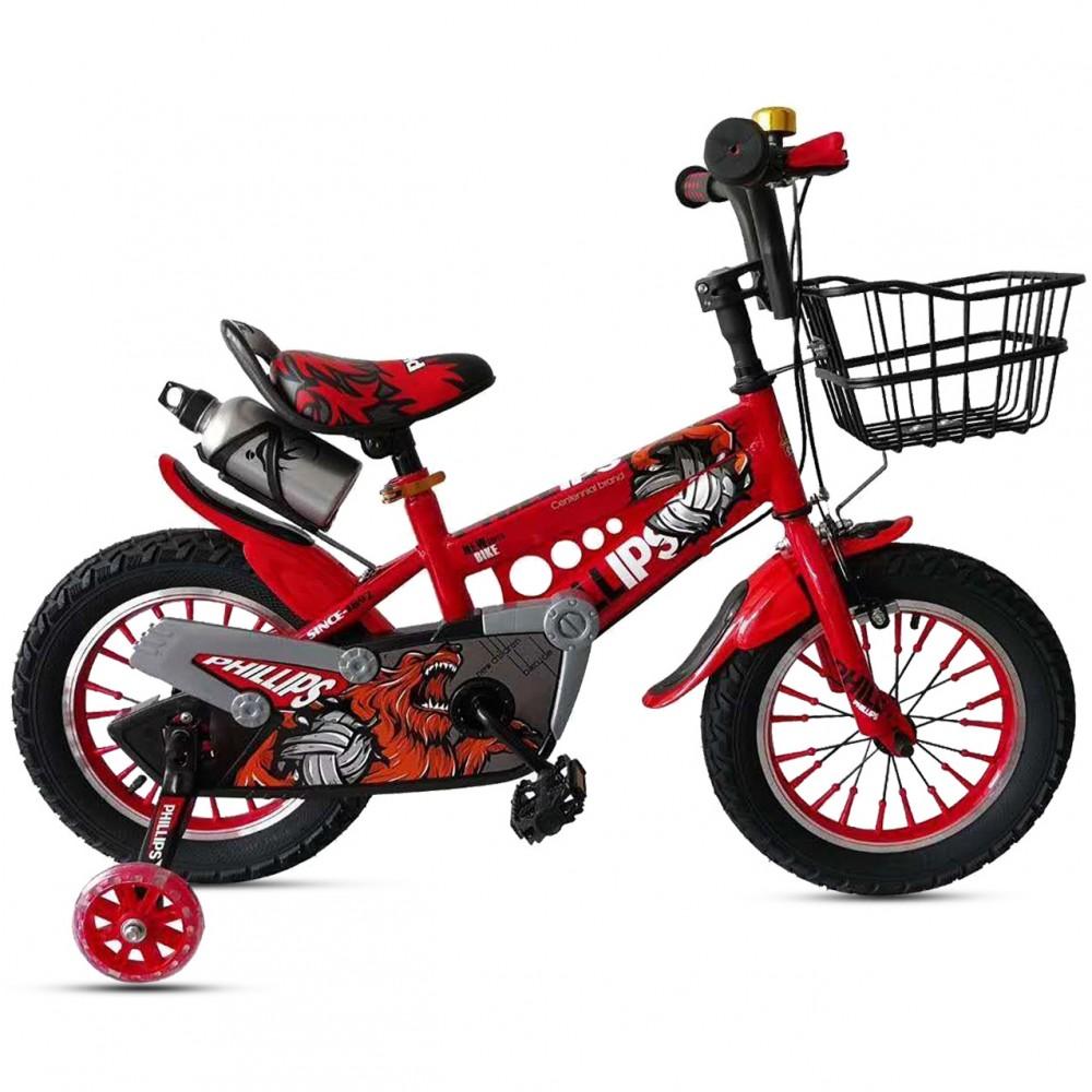 Παιδικό Ποδήλατο - Leon 16 ιντσών Κόκκινο 111-16-RD
