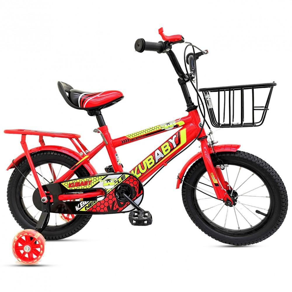 Παιδικό Ποδήλατο - KuBaby 16 ιντσών Κόκκινο 01-16-RD