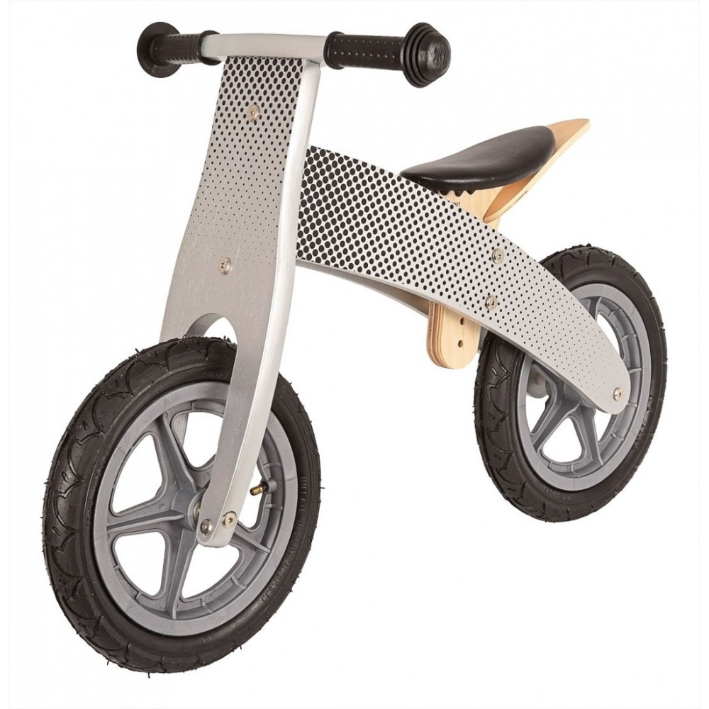 Ποδήλατο Ισορροπίας - United Kids Ξύλινο Γκρι 1702-GR