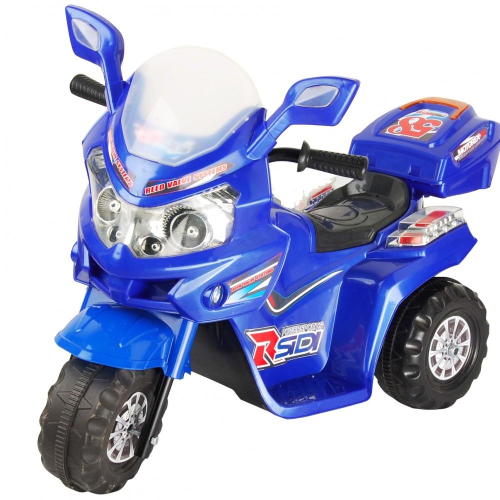 Ηλεκτροκίνητη Μηχανή 6V Μπλε 268-BLU