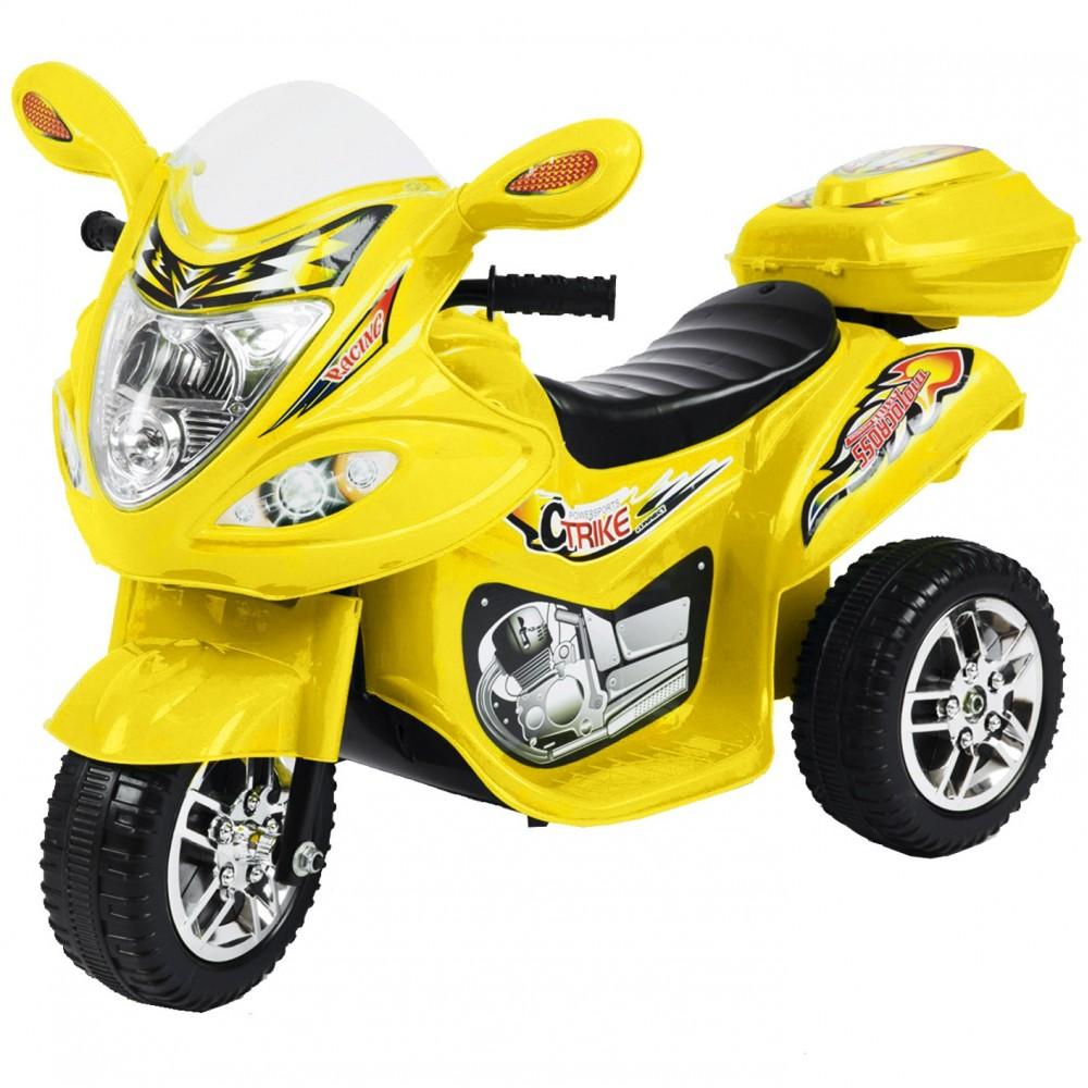 Ηλεκτροκίνητη Μηχανή 6V Κίτρινο BJX88-YL