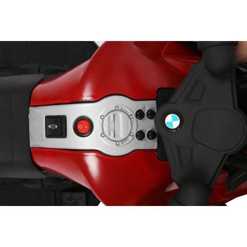 Ηλεκτροκίνητη Μηχανή τύπου BMW 6V Μαύρο-Κόκκινο BJ918