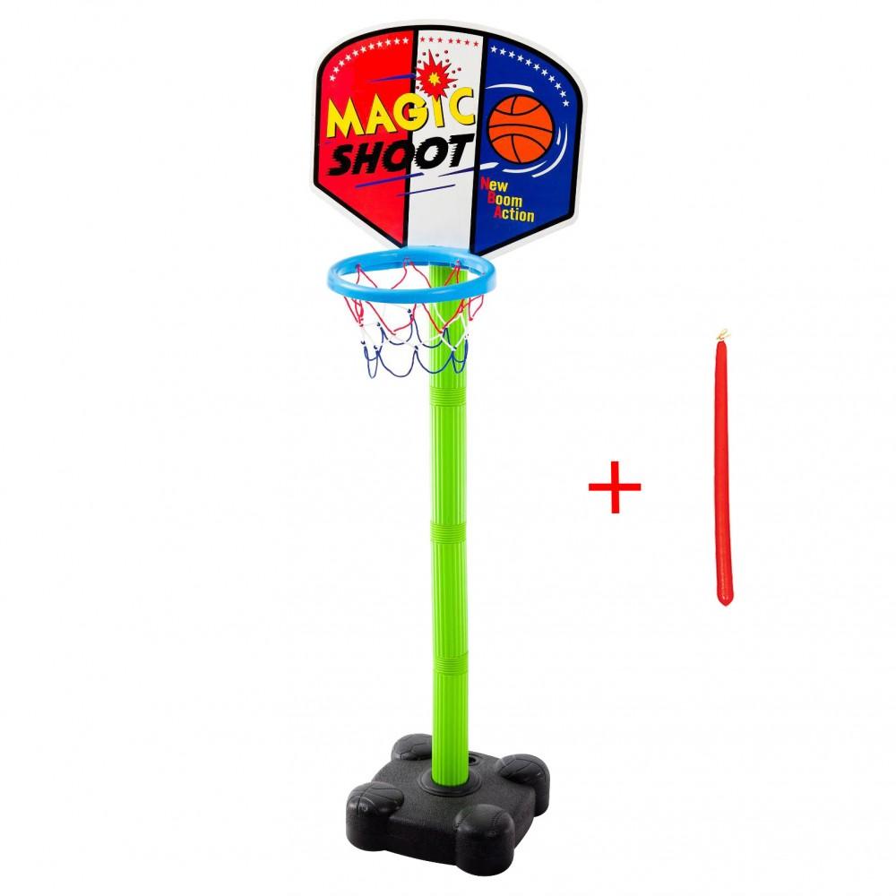 Παιχνιδολαμπάδα - Πλαστική Μπασκέτα Super Magic με Δίχτυ Πράσινο με Δώρο Κόκκινη Λαμπάδα 7090L