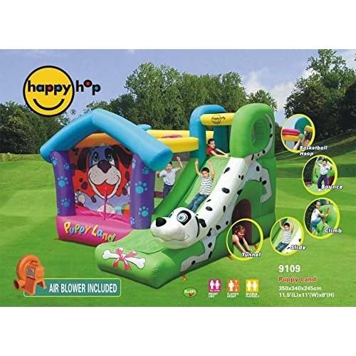 Happy Hop - Φουσκωτό Τραμπολίνο Puppy Land 9109