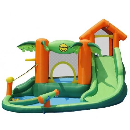 Happy Hop - Φουσκωτό Τραμπολίνο Tropical Play Centre 9364