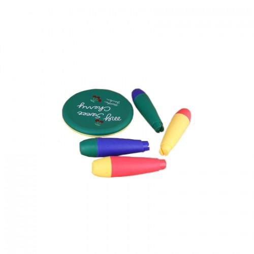 ΕΚΘΕΣΙΑΚΟ ΚΟΜΜΑΤΙ - Τραπεζάκι Πράσινο με 4 Σκαμπό My Sweet Cherry KQ-01401--EXB