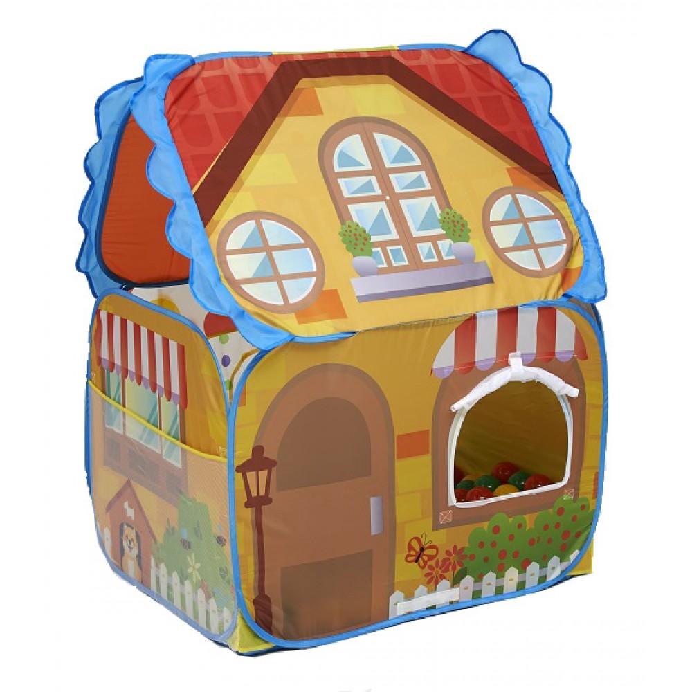 Παιδικός Παιδότοπος Παιχνιδιού Versatility Magic Ball House 3 σε 1 LL2175