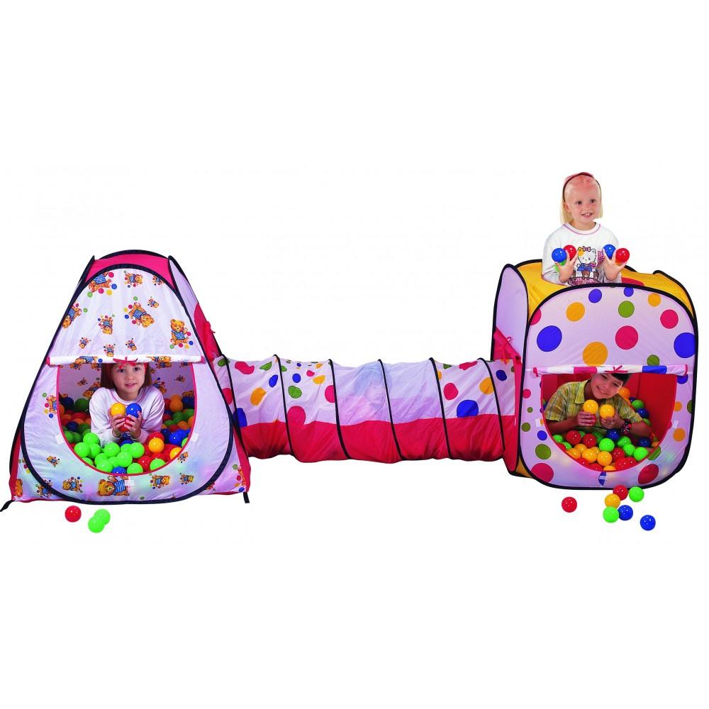 Παιδικός Παιδότοπος Παιχνιδιού 3 σε 1 Pop Up Play Tent LL629