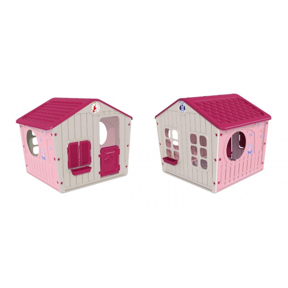 0b6e789455fc ... StarPlay - Παιδικό Σπιτάκι Κήπου Galilee Village House Ροζ 4561