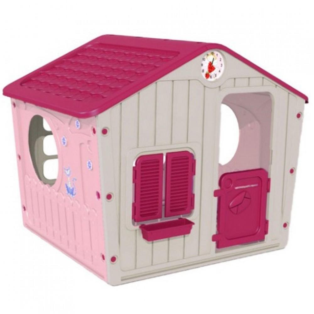 0b4c3b9b035f ... StarPlay - Παιδικό Σπιτάκι Κήπου Galilee Village House Ροζ 4561 ...